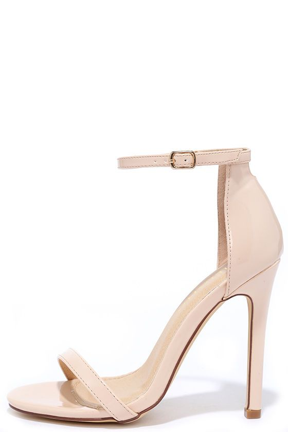 Best 25  Single strap heels ideas on Pinterest | Strap heels ...