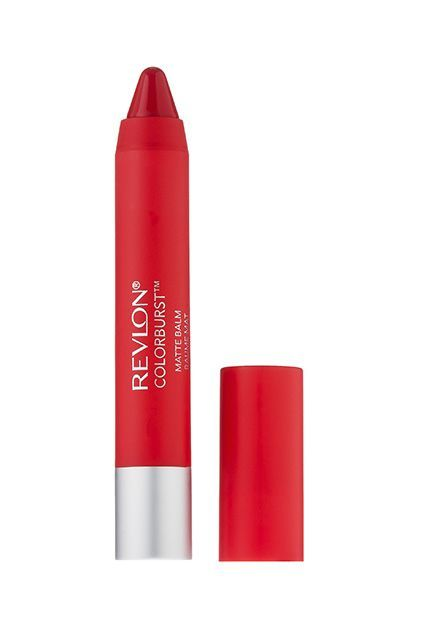"This velvety, chubby pencil makes creating a bold lip easy with its excellent delivery and color that packs a punch,"" Stern says. ""But, the best part is, you can get a true matte finish without dryness.""  Revlon Colorburst Matte Balm In Striking, $6.89, available at Target."