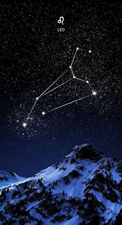 Leo the constellation of my sister (Leo la constelación de mi hermana)