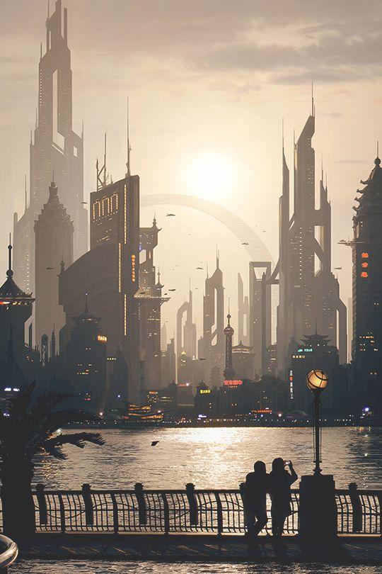 Landscapes // A future that inspires.. #future #big #cities
