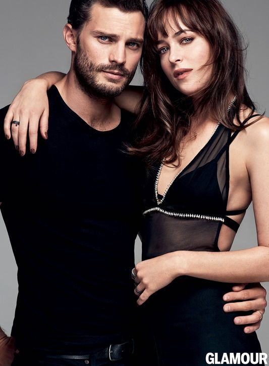 PHOTOS: 50 Shades of Grey Stars Dakota Johnson, Jamie Dornan in Glamour, March 2015: Glamour.com