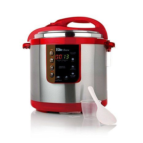 Elite 8-Function 10-Quart Electronic Pressure Cooker. i live by this machine. tender fall off the bone meat all the time.. trust me a must own...
