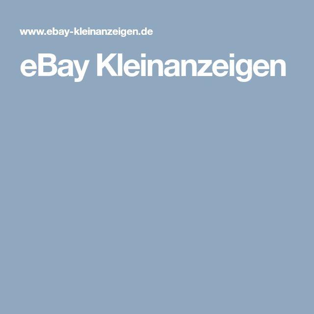 Más de 25 ideas increíbles sobre Kleinanzeigen en Pinterest Ebay - gebrauchte küchen koblenz