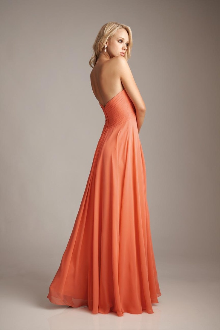 24 best bridesmaids collection images on pinterest prom dress chiffon long bridesmaid dress shows in fashion salmon eggplant colorempire waist with sweetheart neckline ombrellifo Choice Image