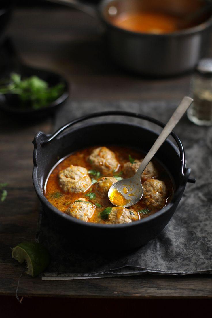 Mutton Meatball Soup
