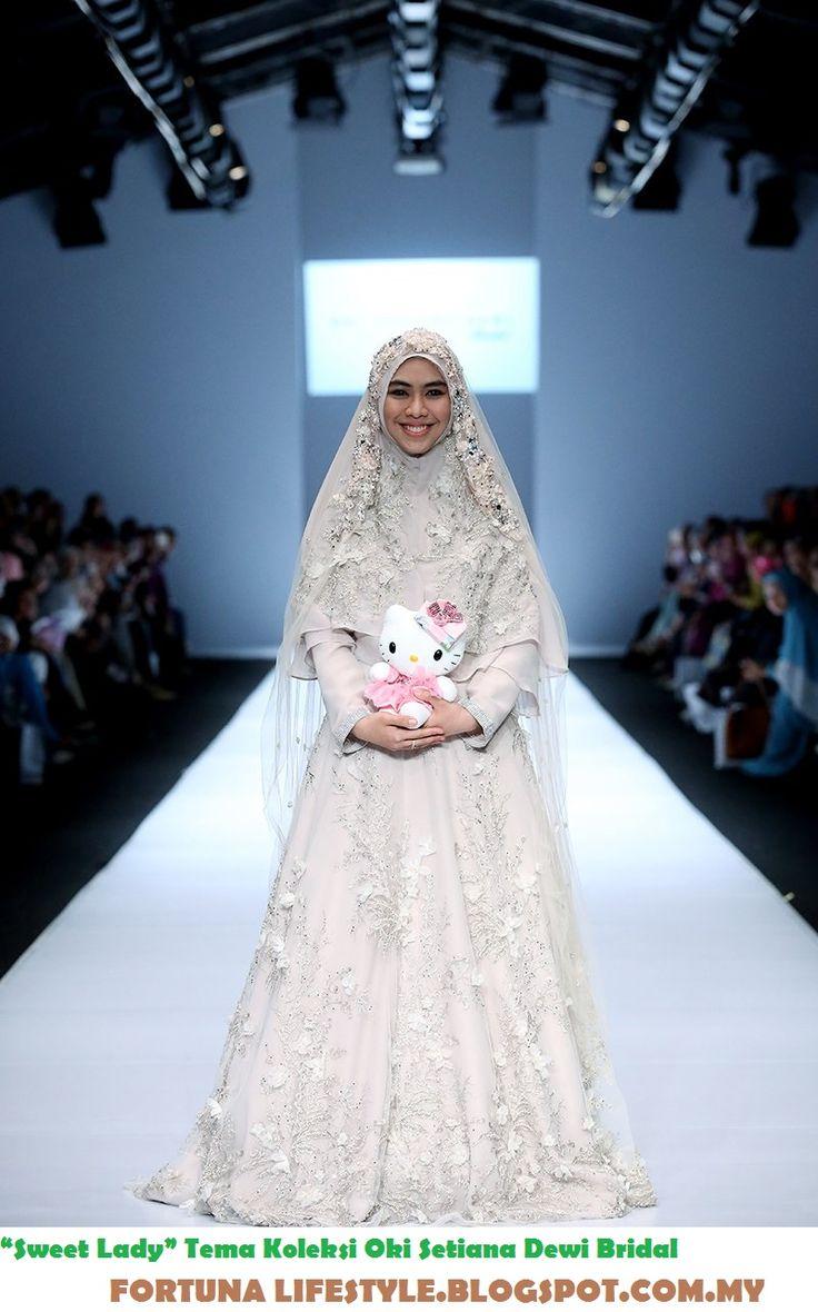 """Jakarta Fashion Week 2017:Inspirasi """"Sweet Lady"""" Tema Koleksi Oki Setiana Dewi Bridal"""