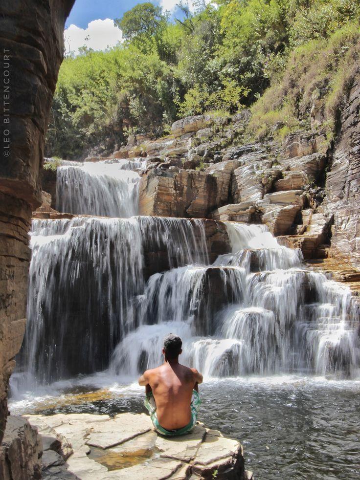 Cascatinha, Cânions do Lago Furnas, Capitólio - Minas Gerais