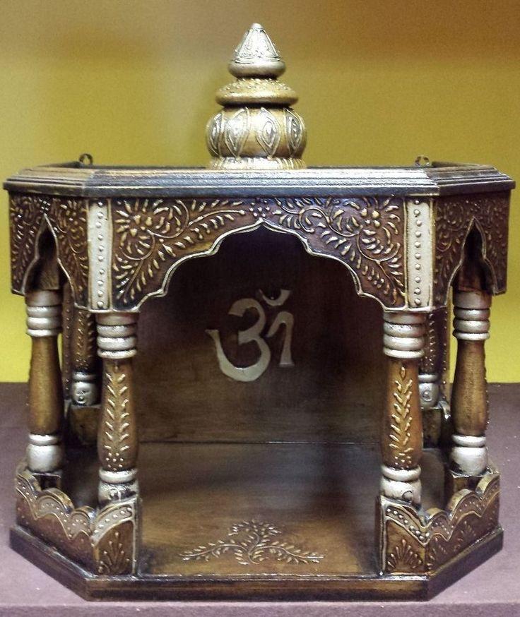 Hindu mandir - ideas for my bookshelf.
