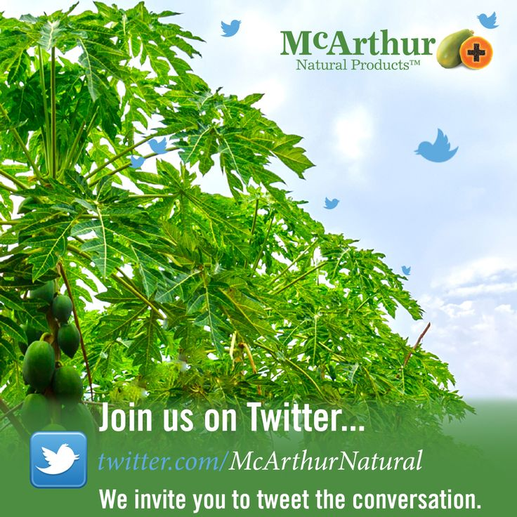 McArthur Natural Products is on the social media channel Twitter as @McArthurNatural please join us. We invite you to tweet the conversation: https://twitter.com/McArthurNatural  #mnp #mcarthurnaturalproducts #twitter #tweet #followback