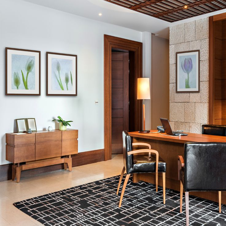 Excellent Serene Home Office  Free House Interior Design Ideas