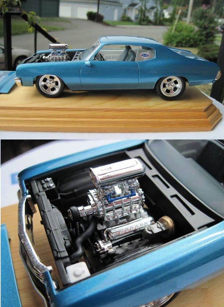 70 Chevelle Model cars kits, Plastic model cars, Scale