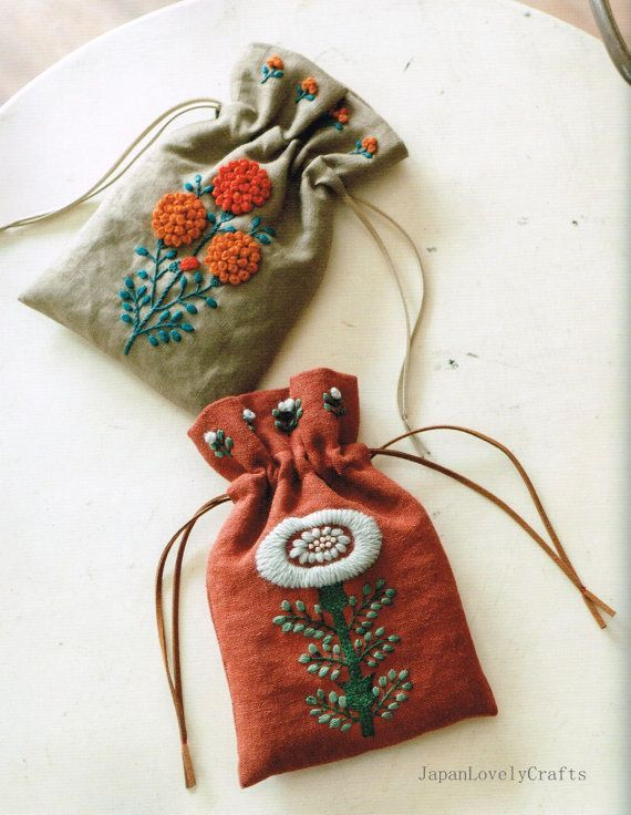 Wool Stitch Yumiko Higuchi Japanese Craft by JapanLovelyCrafts: