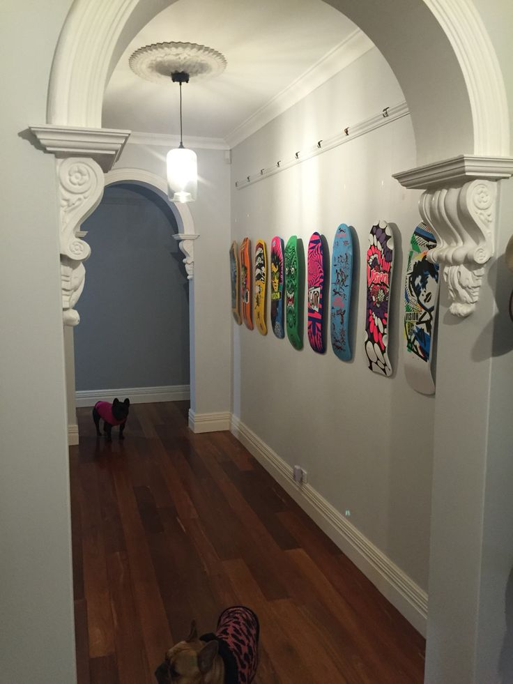 Skateboarders hall of fame.