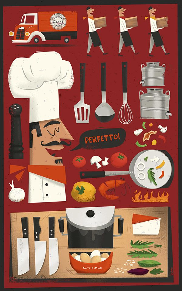 Restaurant Kitchen Illustration best 25+ zizzi menu ideas on pinterest | menu design, menu layout
