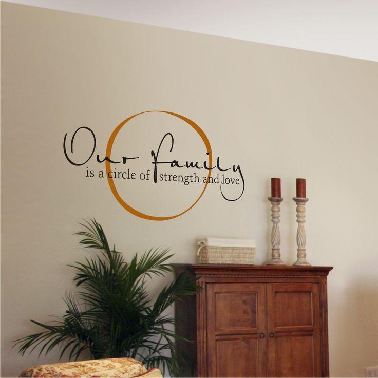 Wall Decor Sayings best 25+ vinyl wall sayings ideas on pinterest | kitchen wall