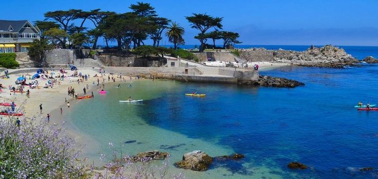 Easter Sunrise Service at Lover's Point - Laguna Seca Recreation Area RV Park - RV Parks in Monterey
