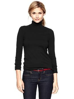 Ribbed turtleneck | Gap  Every year. It never fails, I feel like I need 5 more of these.