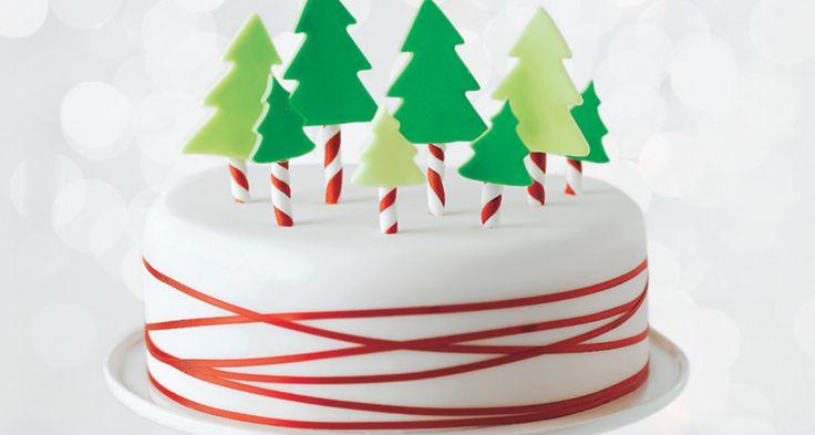 Asda Xmas Cake Decorations