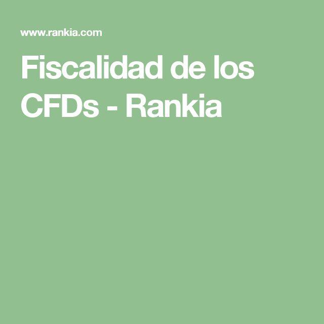 Fiscalidad de los CFDs - Rankia