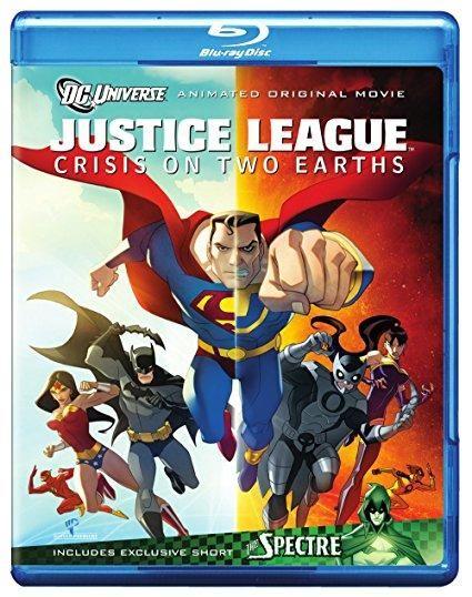 Justice League: Crisis on Two Earths Mark Harmon (voice), William Baldwin (voice), James Woods (voice), Gina Torres (voice), Chris Noth (voice), Nolan North (voice), Kari Wuhrer (voice), Brian Bloom (voice), Bruce Davison (voice), Jonathan