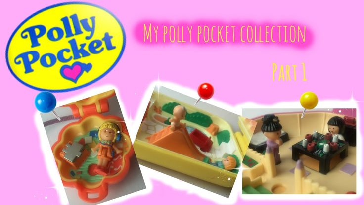 My Polly pocket Collection Part 1, english