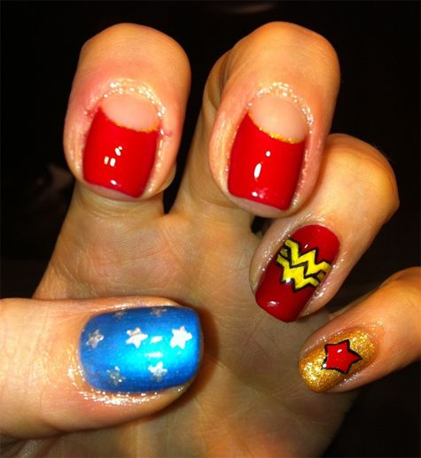 Nails Wonder Woman Can Nail Art Be Feminist