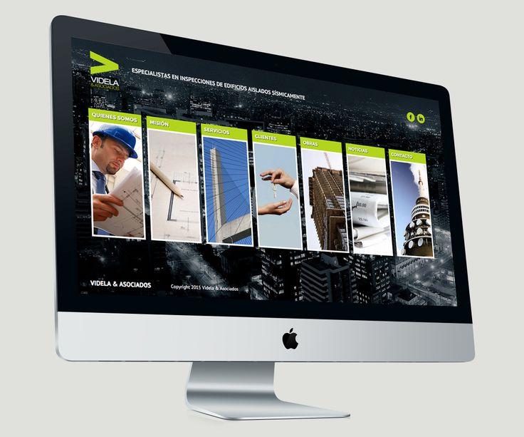 Website for Videla y Asociados.