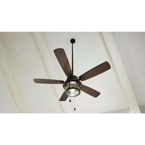 Home Decorators Collection Shanahan 52 In Bronze Led Ceiling Fan With Light Kit Works Google Assistant And Alexa 21034 The Home Depot Bronze Ceiling Fan Ceiling Fan Ceiling Fan With Light