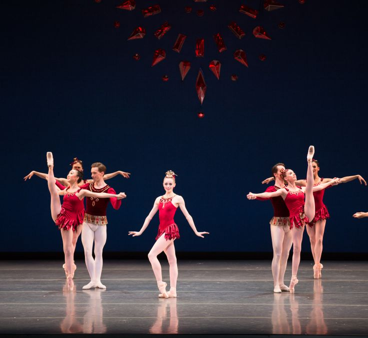 Boston Ballet's Rubies ©Rosalie O'Connor