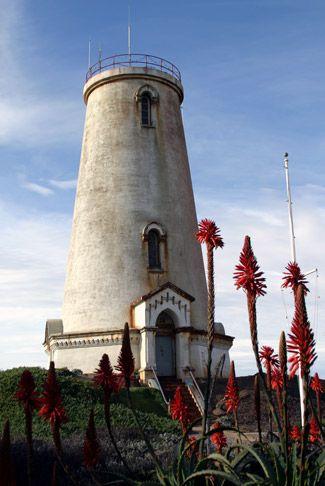 Piedras Blancas Lighthouse, California at Lighthousefriends.com