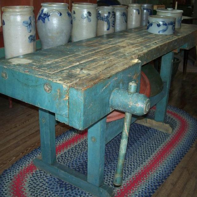 66 Best Antique Work Benches Images On Pinterest: 1302 Best Images About Antique Crocks, Jugs And Stoneware