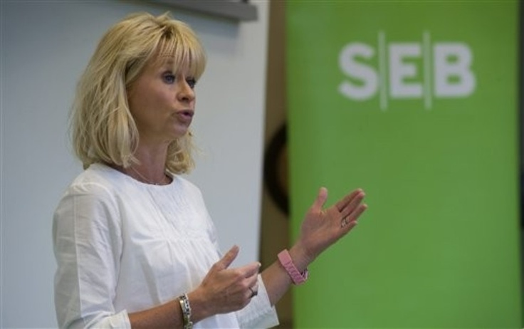 Annika Falkengren; CEO of Sweden's SEB Bank