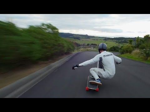 Longboarding: 91kph From the Top - YouTube