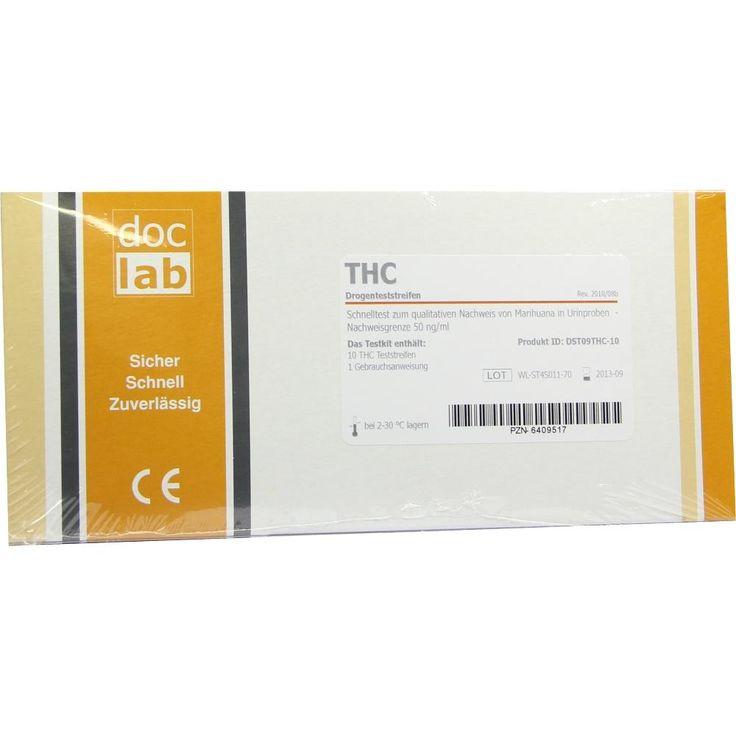 DROGENTEST THC Marihuana Teststreifen:   Packungsinhalt: 10 St Teststreifen PZN: 06409517 Hersteller: DocLab GmbH Preis: 22,04 EUR inkl.…