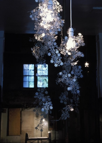 Floral steel works of Tord Boontje. Incredible.