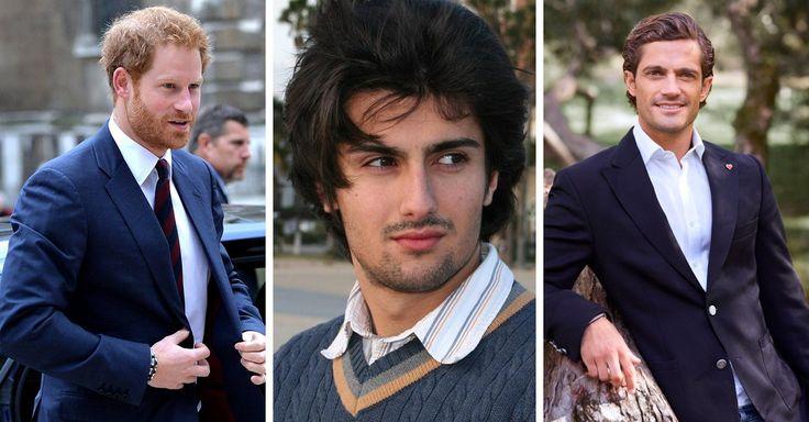 Estos hombres han heredado de todo, fortuna, fama y unos increíbles genes que los han convertido en la envidia de muchos, son los príncipes más guapos del mundo