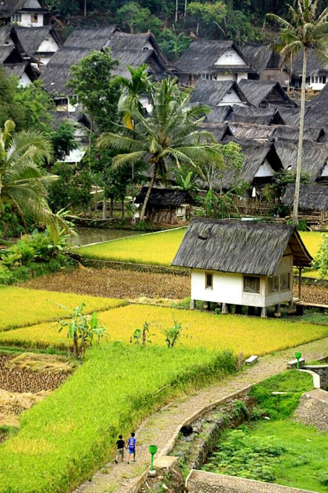 Kampung naga, West Java, Indonesia