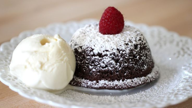 Beth's Foolproof Chocolate Lava Cake. Perfect for Valentine's Day!