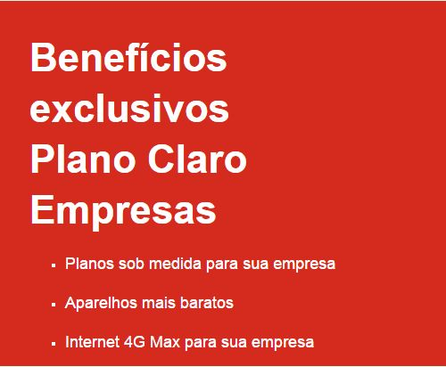 beneficios claro empresas