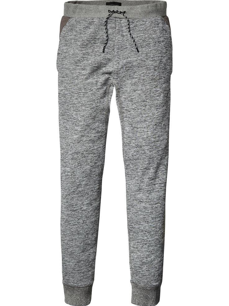 Pantaloni della tuta modello biker | Pantaloni in felpa | Abbigliamento Uomo di Scotch & Soda