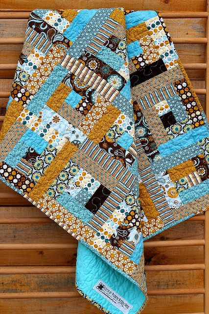 Baby Log Cabin Quilt Adore These Colors Quilts
