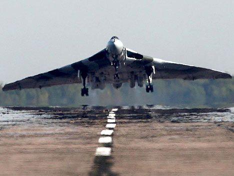 Vulcan takin off