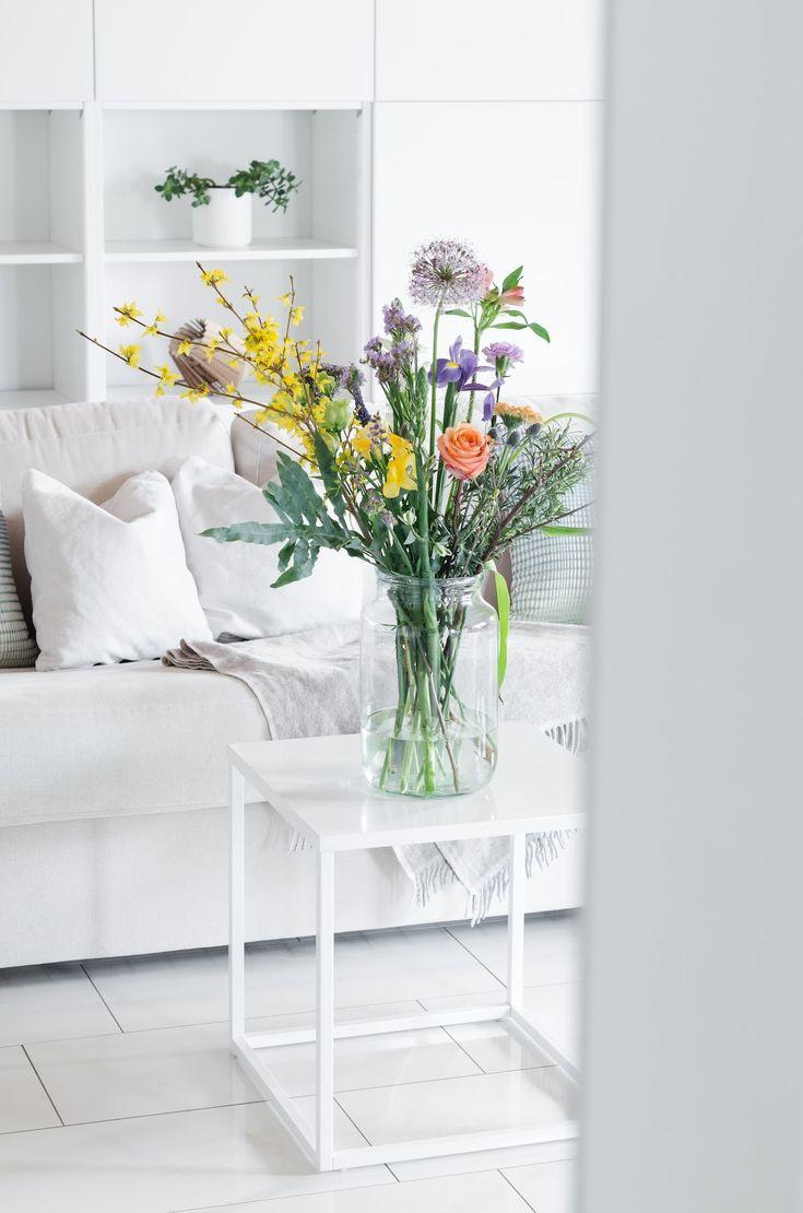 Ein Blumenbouquet selbst erstellen.