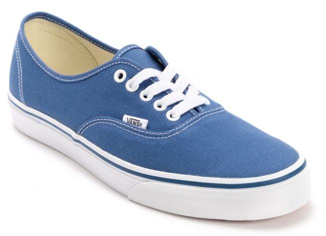 Vans Authentic Navy Canvas Shoe