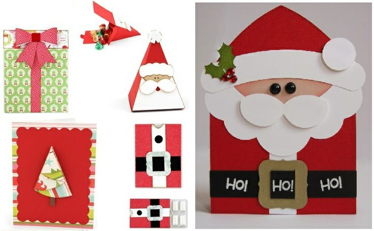 home-made Christmas cards