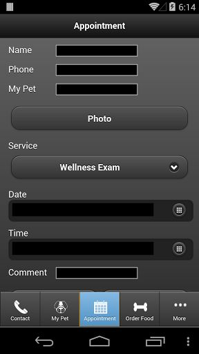 This app is designed to provide extended care for the for the patients and clients of Caring Hands Animal Hospital in Ashburn, Virginia. With this app you can:<br>* One touch call and email<br>* Request appointments<br>* Request food<br>* Request medication<br>* View your pet's upcoming services and vaccinations (with automatic login!)<br>* Receive notifications about.....hospital promotions, lost pets in our vicinity and recalled pet foods. <br>* Receive monthly reminders so you don't…