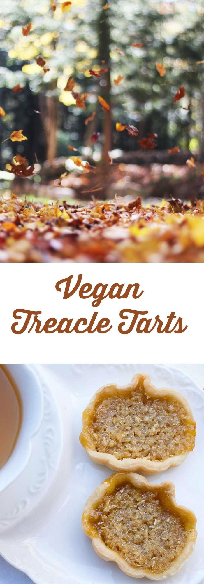Harry Potter's Mini Vegan Treacle Tarts is a healthier version of a traditional English dessert.