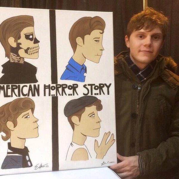 Love it! And love how Evan Peters appreciates his fans. Follow rickysturn/evan-peters