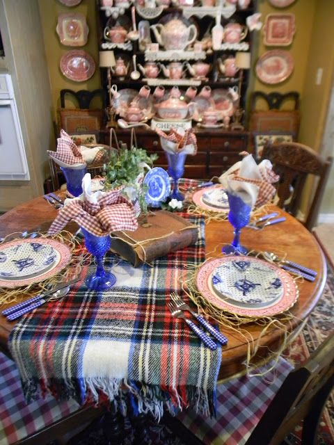 Nancy's Daily Dish: Fourth of July Table Setting