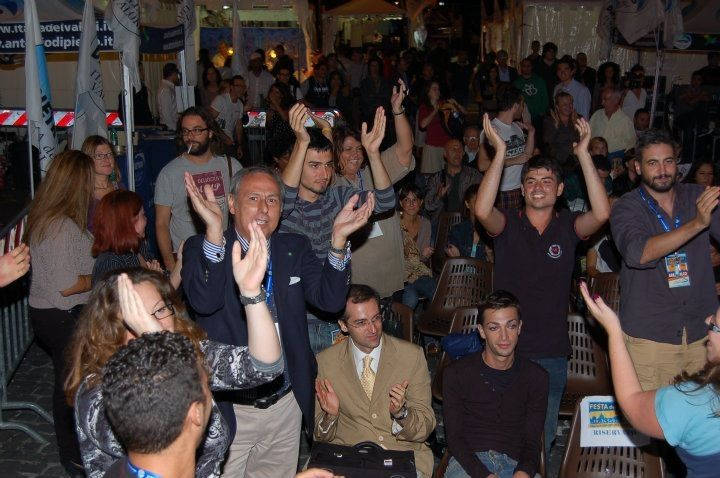 Festa finale della 1ª festa regionale Idv Lazio